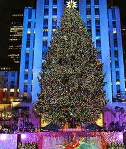 Árbol de Navidad  en el Rockefeller Center de Nueva York