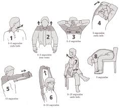 La osteocondrosis del departamento lumbar los ejercicios físicos del vídeo