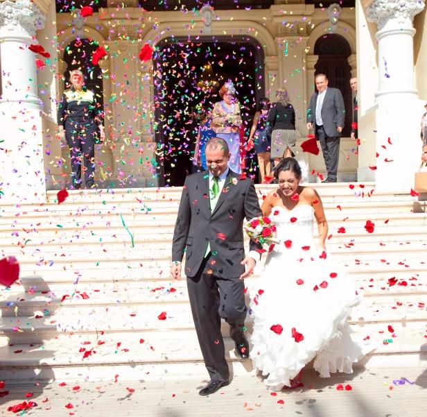Hoy hace 3 años de este espectacular día en Málaga. 3 años intensos y llenos de felicidad, ahora, a por el próximo!